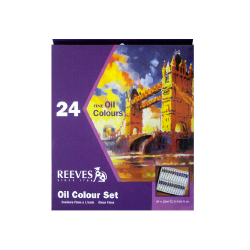Reeves 24 × 10 ml sada olejových barev