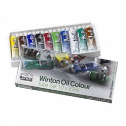 Winton sada olejových barev 10 × 37 ml