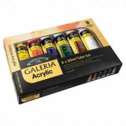 Galeria sada akrylových barev 6x60 ml