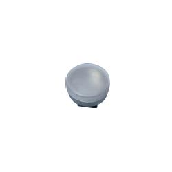 Kovová miska jednoduchá s plastovým uzávěrem Ø 40 mm | 2142