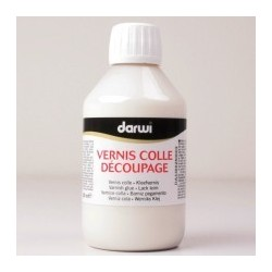 Lak a lepidlo na Decoupage 250 ml