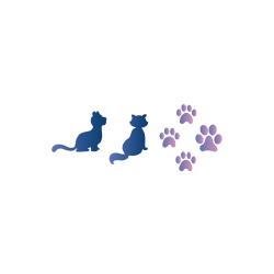 Kočky a tlapky