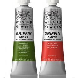 Alkydové barvy Griffin alkyd 37 ml cenová sk 1