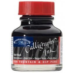 W & N Kaligrafický ink 30ml černá matná ne do plnícího pera