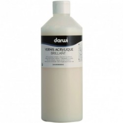 Akrylový lesklý transparetní lak Darwi 500 ml