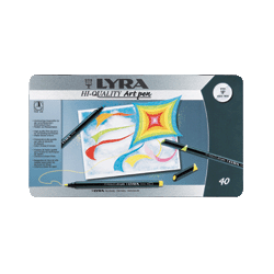 Hi-Quality Art Pen Lyra 40 barev