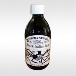 Inkoust 250 ml Winsor černý voděodolný