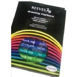 Sada Reeves markers 12 ks základní