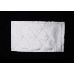 Kosmetická taštička bílé hedvábí opět skladem