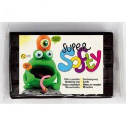 Modelína SuperSofty 350 gr černá