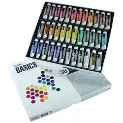 Liquitex Basic sada akrylových barev 36x22 ml