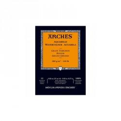 Arches akvarel blok grain torchon rough hrubě zrnitý A5