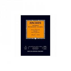 Arches akvarel blok grain torchon rough hrubě zrnitý A4