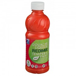 Redimix tempera Lefranc 500 ml vermilion