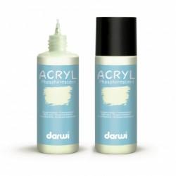 Akrylová barva Darwi fosforescenční 80 ml