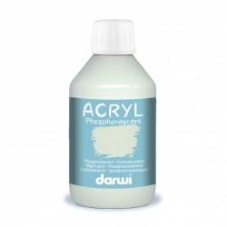 Akrylová barva Darwi fosforescenční  250 ml