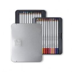 Sada akvarelových tužek W&N v plechu 12 ks