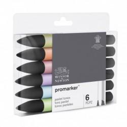 Sada Brushmarker 6 ks Pastel tones nové balení